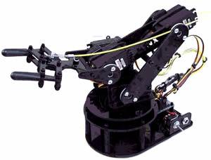 多軸機器手臂的設計與製作