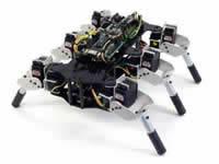 六足多自由度(12、18DOF)機器人的運動規劃與行為控制